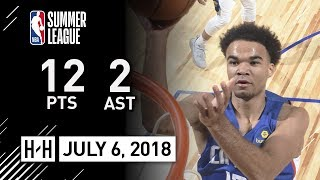 Jerome Robinson Full Clippers Debut Highlights vs Warriors (2018.07.06) Summer League - 12 Pts