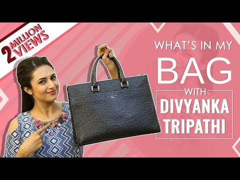 What鈥檚 In My Bag With Divyanka Tripathi  | Bag Secrets Revealed | Exclusive