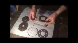 how to change a classic motorcycle clutch bsa bantam dkw cz mz