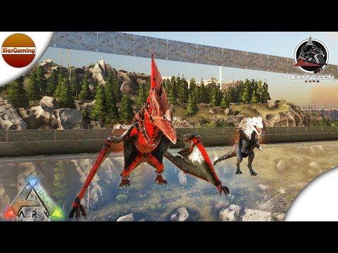 Κάνουμε tame Alpha Pteranodon και Alpha Dilophosaurus. ARK Extinction Core E15 (Greek gameplay)