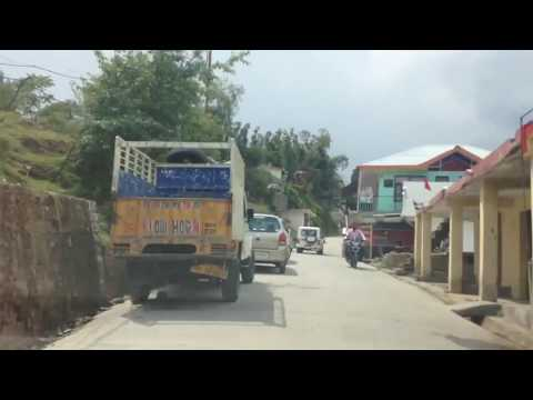 Drive from McLeod Ganj Market to Naddi Village, Dharamshala, Himachal Pradesh, India 2017