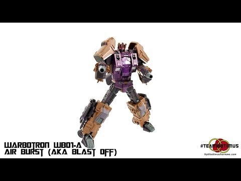 Video Review of the Warbotron: Air Burst (aka Blast Off)