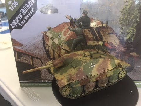 Building the Academy 1/35 Hetzer including painting and weathering