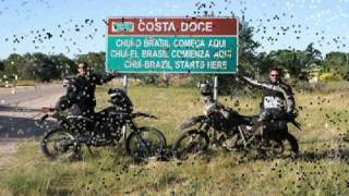Viagem de moto ao Extremo Sul do Brasil / Motorcycle trip to Extreme South of Brazil TRAVEL_VIDEO