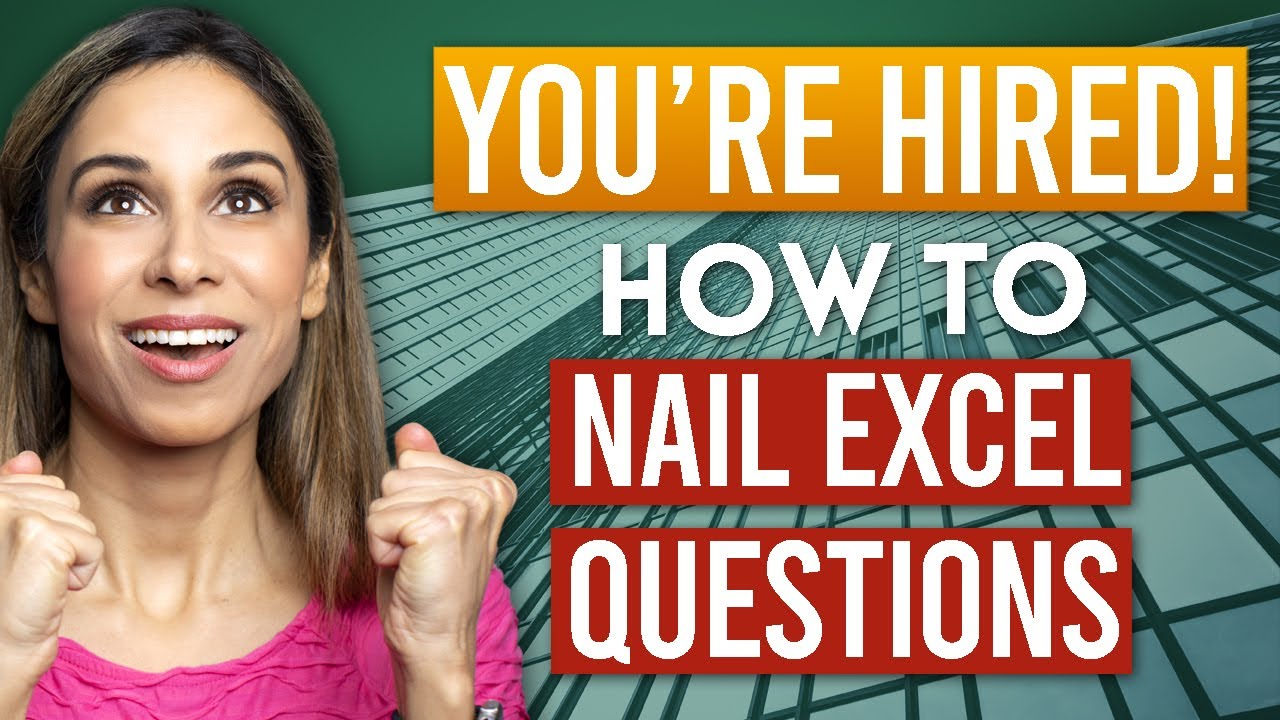 How to ACE Excel Interview Questions (Based on YOUR feedback & by Position)