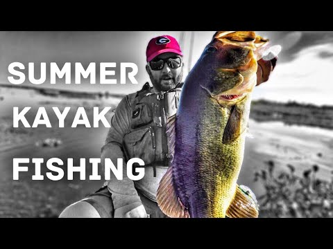 Kayak Bass Fishing - Summer fishing in Florida