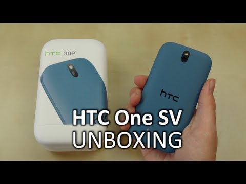 Unboxing: HTC One SV | SwagTab