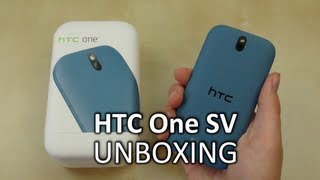 Unboxing: HTC One SV