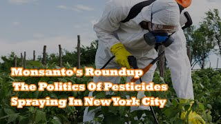 Monsanto's Roundup, The Politics Of Pesticides, And The Mass-Spraying In New York City