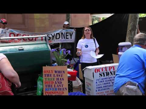 March Against Monsanto - Sydney Town Hall - 12th October 2013