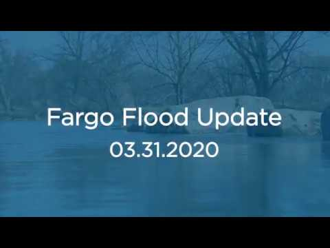 City Of Fargo Division Engineer Nathan Boerboom Provides Red River Spring Flooding Update. 03.31.20