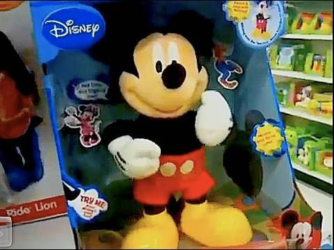 Mickey Mouse Clubhouse Hot Dog Song Dance Doll