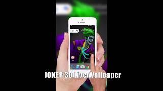Joker 3D Live Wallpaper on Touch - Go 3d live wallpaper