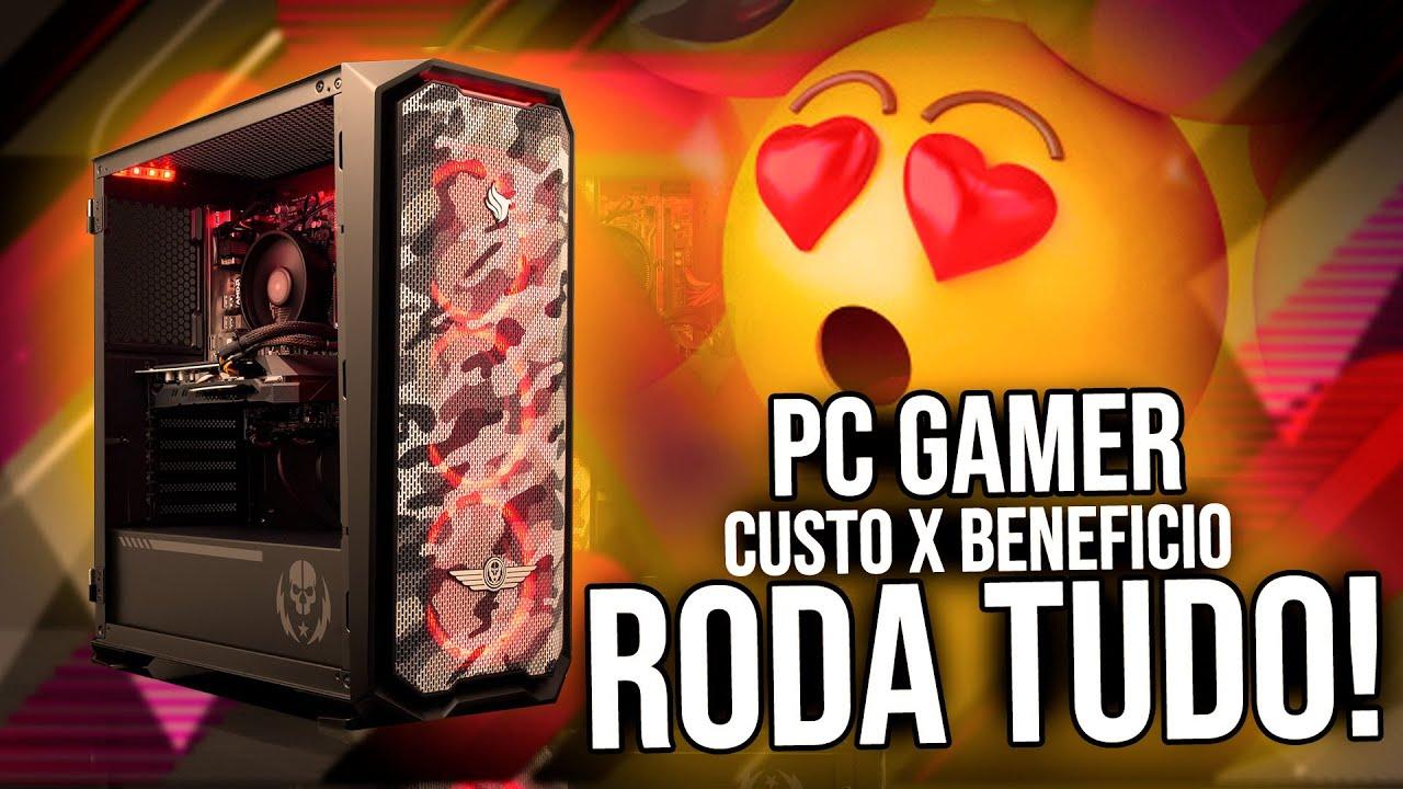 PC Gamer Custo x Beneficio para rodar TUDO em 2020 | GTA V, CS:GO, Forza...