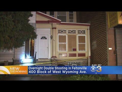 Philadelphia Police Investigate Double Shooting In Feltonville