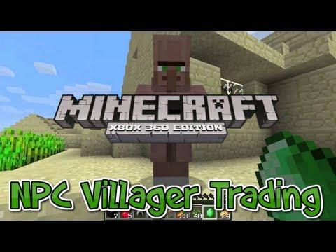 Xbox 360 minecraft trading system
