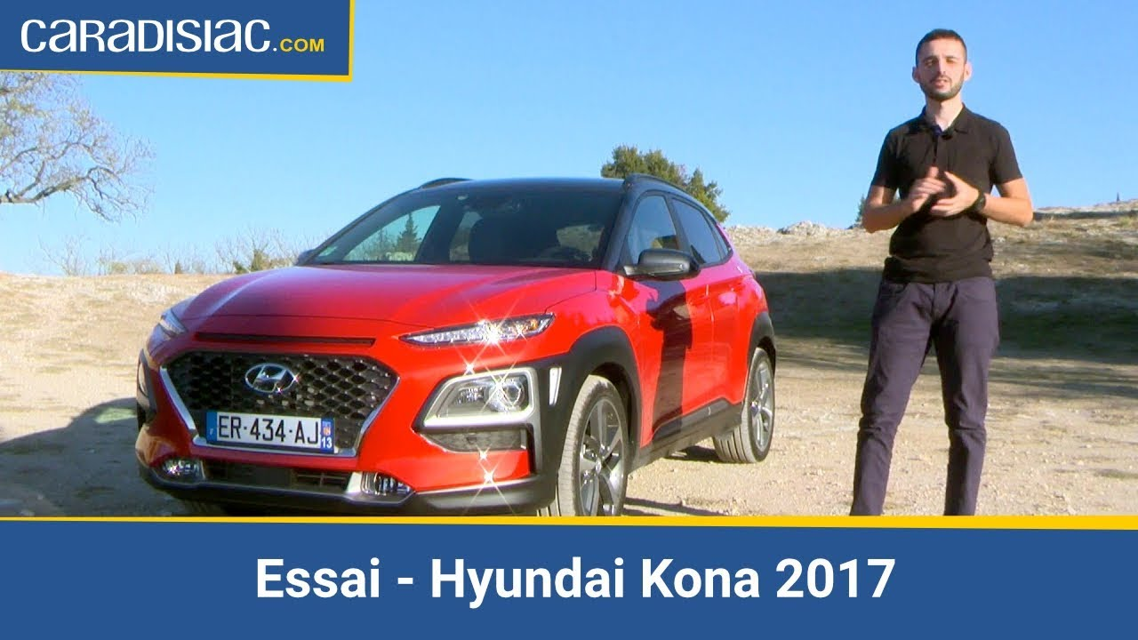essai hyundai kona 2017 t 39 as le look coco youtube. Black Bedroom Furniture Sets. Home Design Ideas