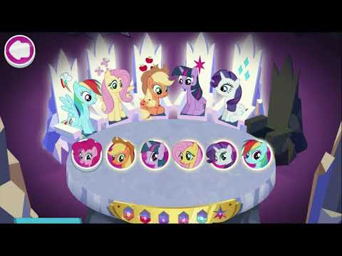My Little Pony - Harmony Quest Magical Adventure - All Pony Run Gameplay for Kids #11