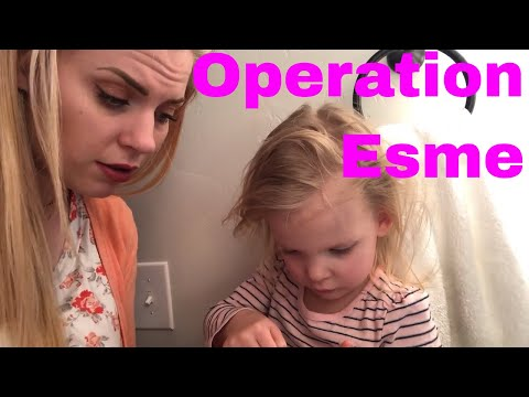 MOM OPERATES ON ESMES FINGER