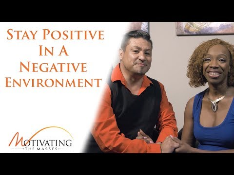 Lisa Nichols - How To Stay Positive In A Negative Environment