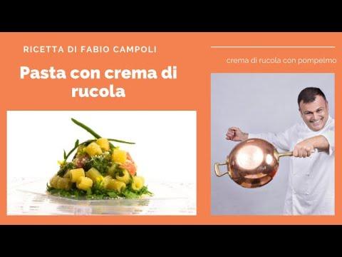 Spaghetti alla rucola e pompelmo rosa