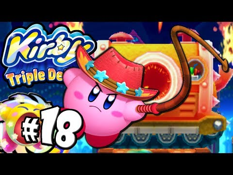 Kirby Triple Deluxe: Royal Road Remix Whip Copy World 6 PART 18 Nintendo 3DS Gameplay Walkthrough