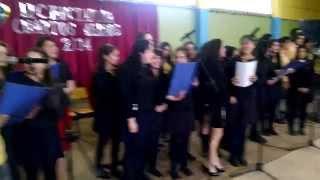 """Shosholoza"" Canción despedida Licenciatura Liceo Rodulfo Amando Philippi  Paillaco"