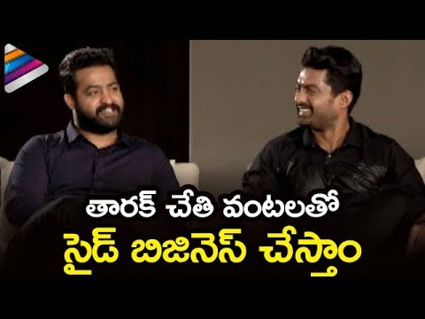 Jr NTR and Kalyan Ram Super Funny Video | Jai Lava Kusa Movie Latest Interview | Nivetha | Raashi