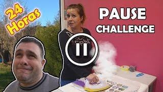 PAUSE CHALLENGE for 24 Hours   24 HORAS PAUSA CHALLENGE * Qué locura !