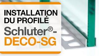 Comment installer le profilé Schluter®-DECO-SG