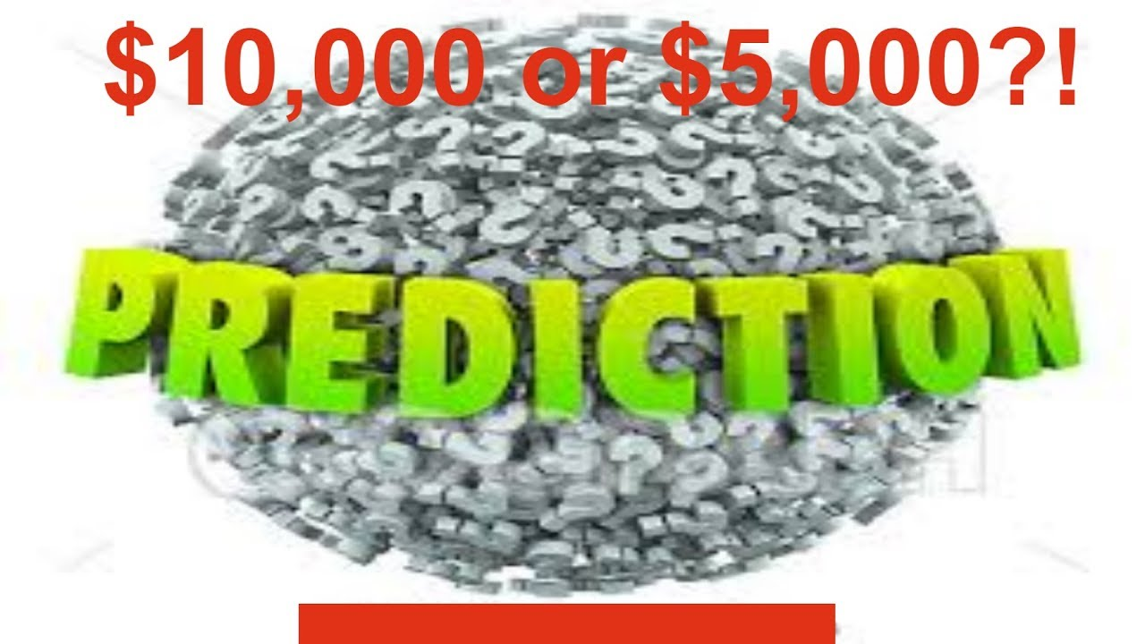 PREDICTION $10,000 or $5,000 – What Will BITCOIN See FIRST!?