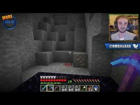 """MINECRAFT (How To Minecraft) - w/ Ali-A #35 - """"200 DIAMOND HYPE!"""""""