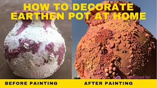 All Clip Of How To Decorate Matki At Home Bhclip Com