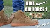 6c48f440c3e4 Nike Air Force 1 High GS Flax Wheat Review + On Feet - YouTube