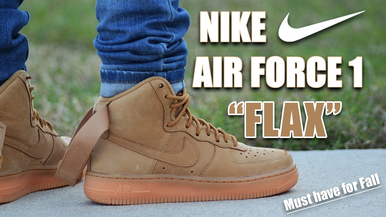 finest selection 82c23 5a61f Nike Air Force 1 Flax