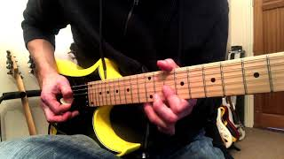 """How To Play The """"Dreams"""" Solo   Van Halen   Lesson"""