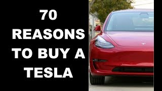 70 Reasons To Buy A Tesla Model 3 | 70 Tesla Features