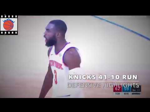 Knicks Film School: Knicks Defense During 41-10 Run