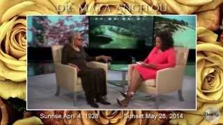 Dr. Maya Angelou (Cultural Icon) In Loving Memory