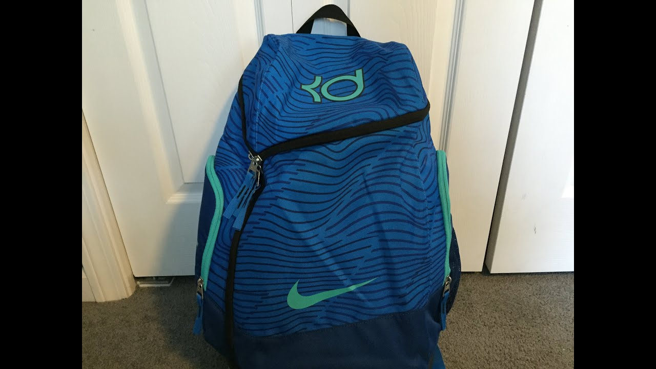 Kevin Durant Max Air Backpack Review! - YouTube