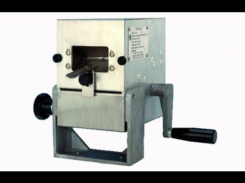 Adelphi Centrac FCC Metal Tube Closing Machine