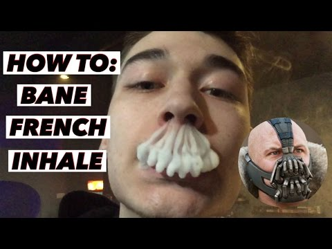Vape Trick Tutorial - How to: Bane French Inhale