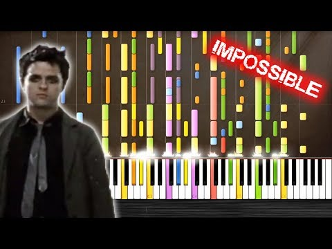 Green Day  Boulevard Of Broken Dreams  IMPOSSIBLE PIANO  PlutaX