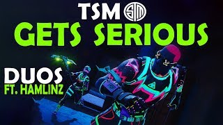 TSM GETS SERIOUS | Daequan & Hamlinz vs. TOP 10 DUO TEAM - (Fortnite Battle Royale)