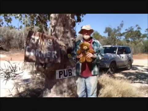 Marly Fossicking With Opal Jim At Lightning Ridge, N.S.W., Australia