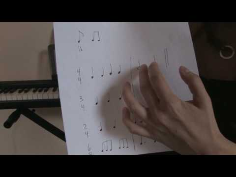 how to read time signatures in music