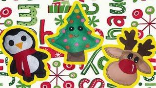Como hacer cojines navideños // Moldes gratis // Manualidades navideñas // Christmas crafts