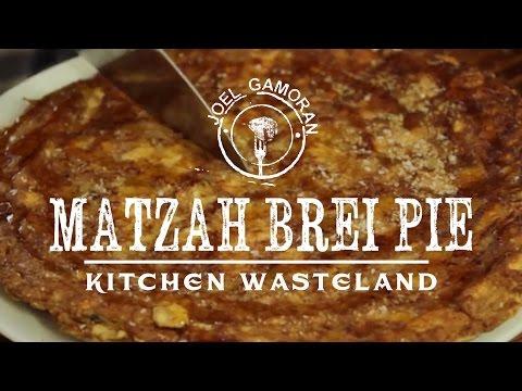 Matzah Brei Pie Recipe • {Kitchen...