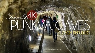Travel to Punkva Caves, Czech Republic in 4K