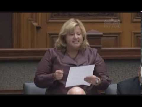 Thompson Questions Minister on CD Howe Report